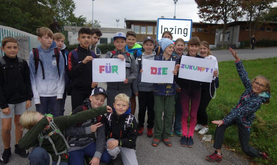 Fridays for Future – Ortsschildaktion
