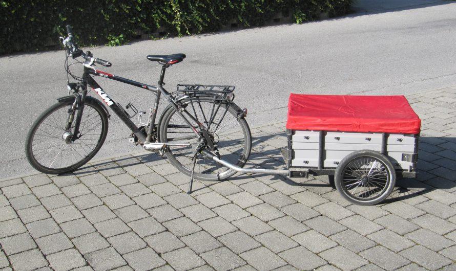 Lastenanhänger beim Fahrrad – praktisch für viele Fälle