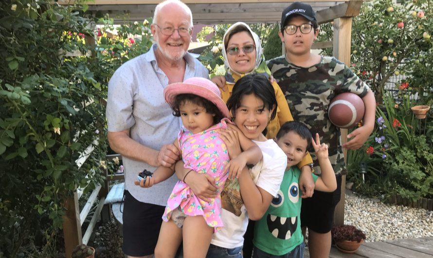 Interview mit der Familie Rasouli: Zehnab (Z )und Mohsen (M)