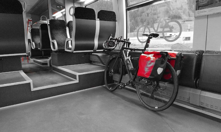Fahrrad und Zug – eine gute Kombination