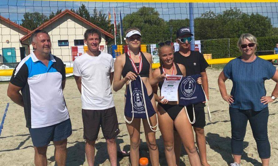 SU inzingvolley Nachwuchs bei den Österreichischen Beachvolleyballmeisterschaften stark vertreten